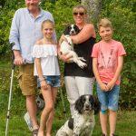 BFF familjen Malmgren med Axa och Etta